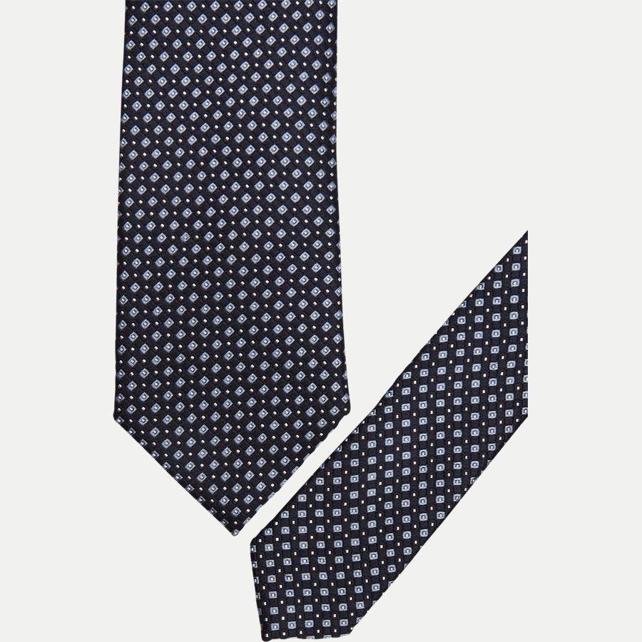 DES#R118 - Krawatten - NAVY - 2