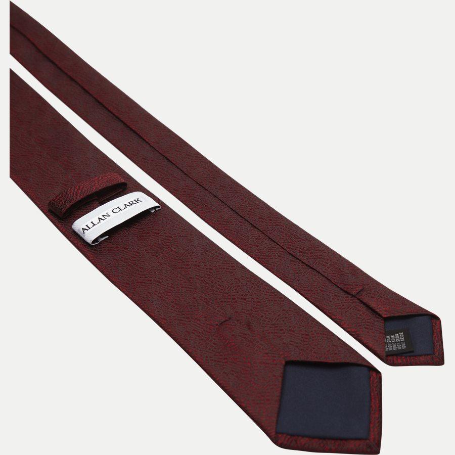 DES#FA007 - Krawatten - BORDEAUX - 3
