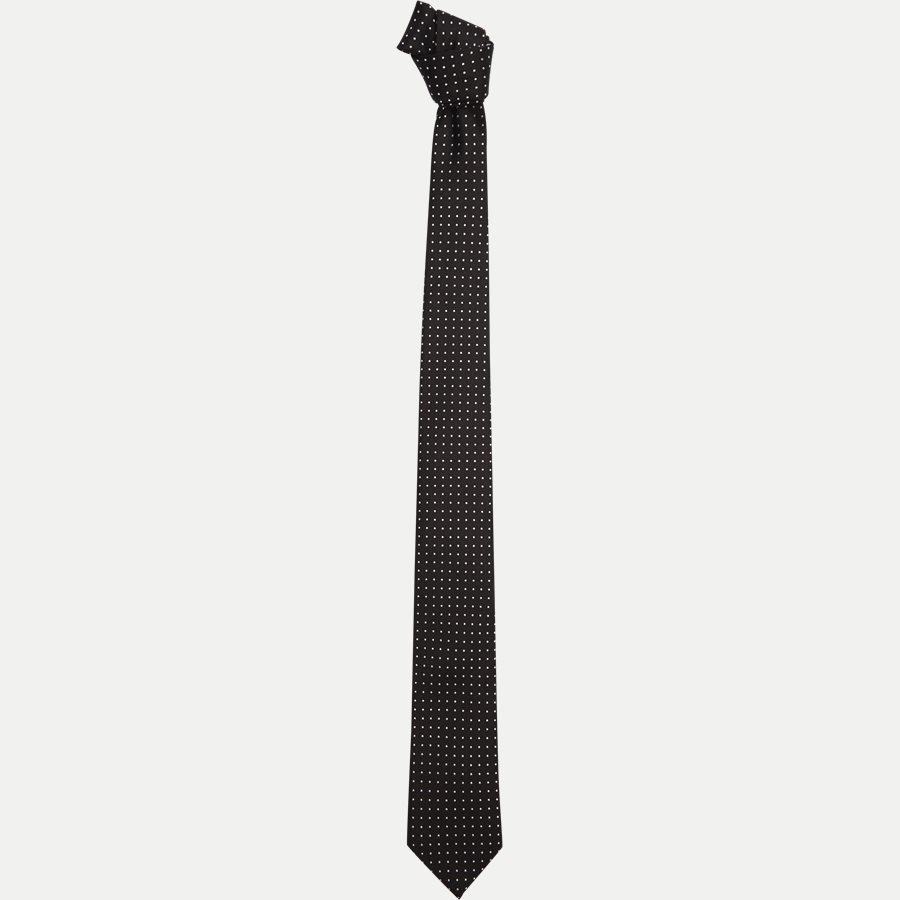 DES#T88 - Krawatten - BLACK - 1