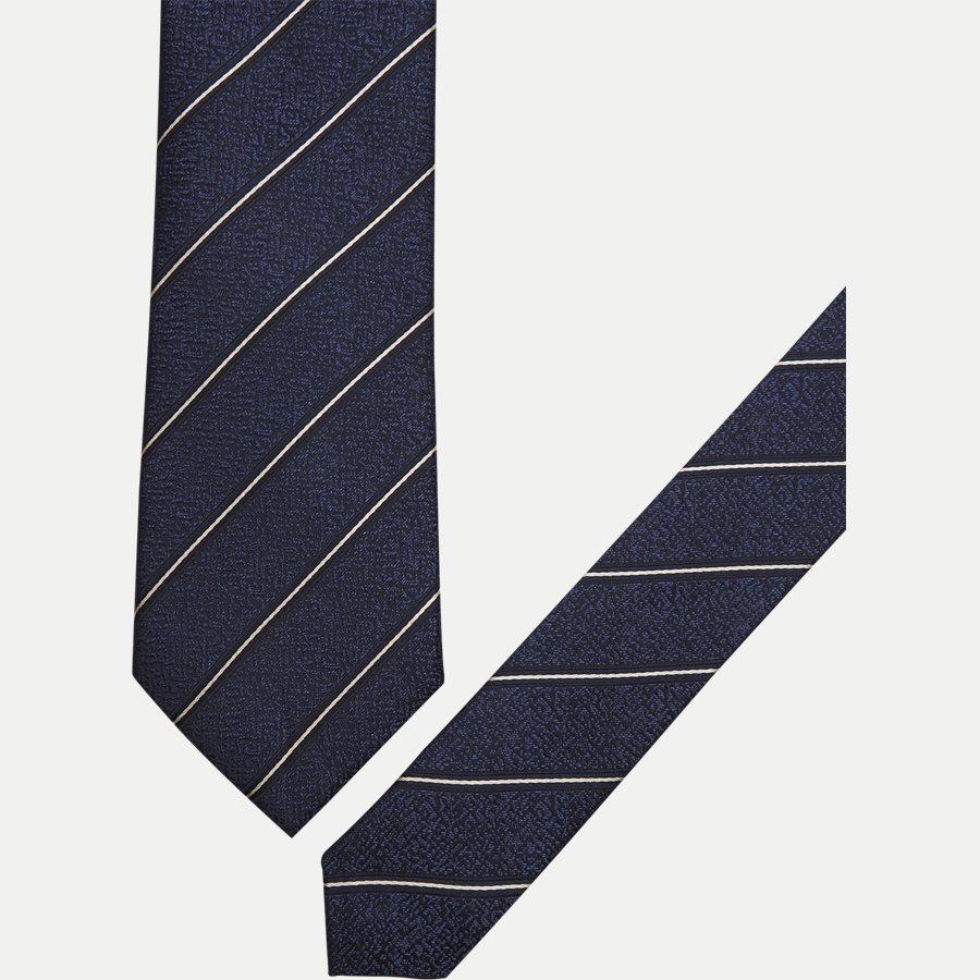 K560 - Krawatten - NAVY - 2