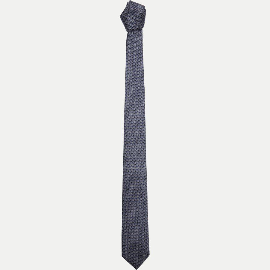 DES#K1089 - Krawatten - NAVY - 1