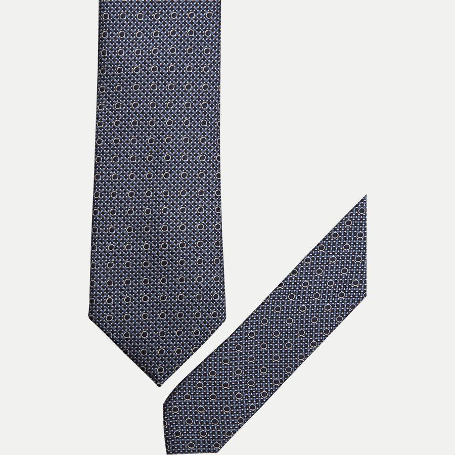 DES#K1089 - Krawatten - NAVY - 2