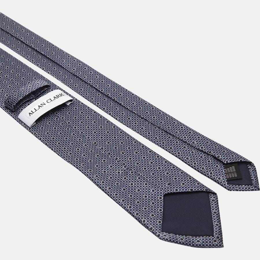 DES#K1089 - Krawatten - NAVY - 3