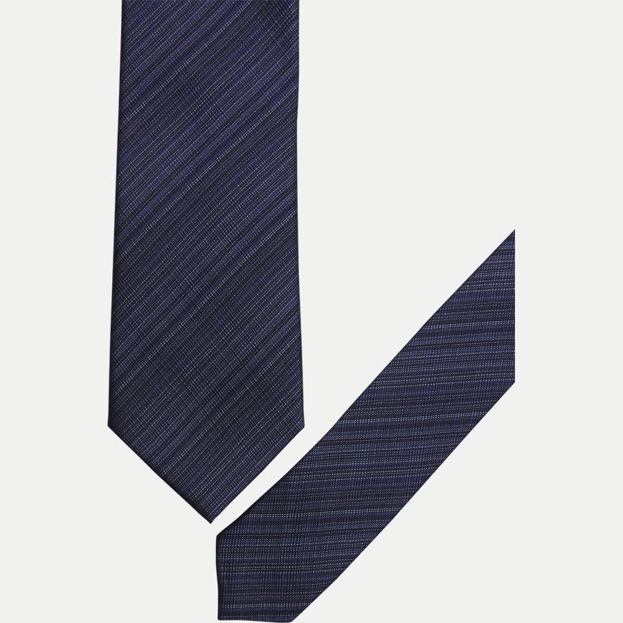 K543 - Krawatten - NAVY - 2