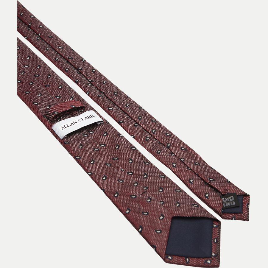 DES#K1109 - Krawatten - BORDEAUX - 3