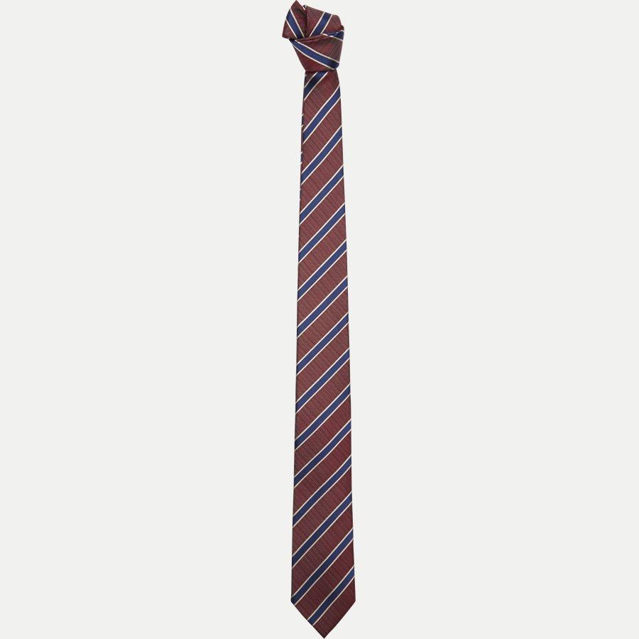 DES#K1108 - Krawatten - BORDEAUX - 1