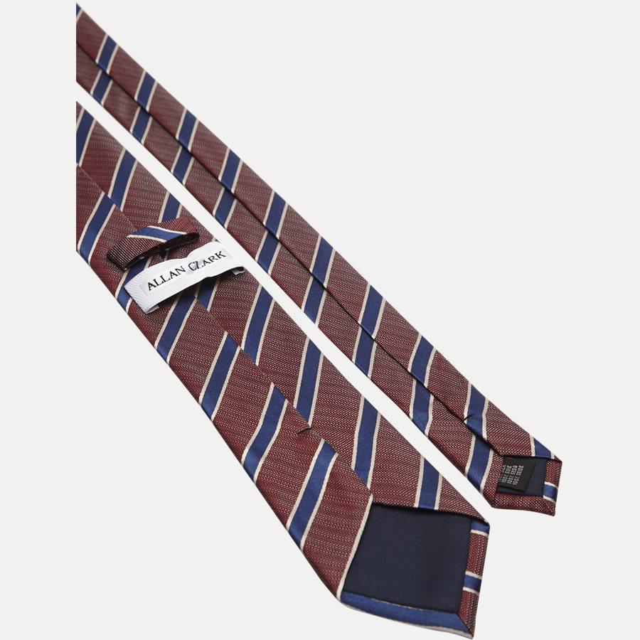 DES#K1108 - Krawatten - BORDEAUX - 3