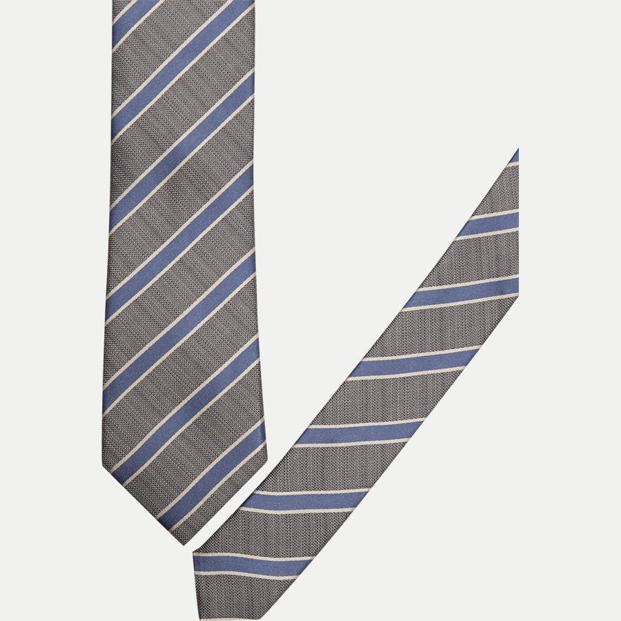 DES#K1108 - Krawatten - GREY - 2