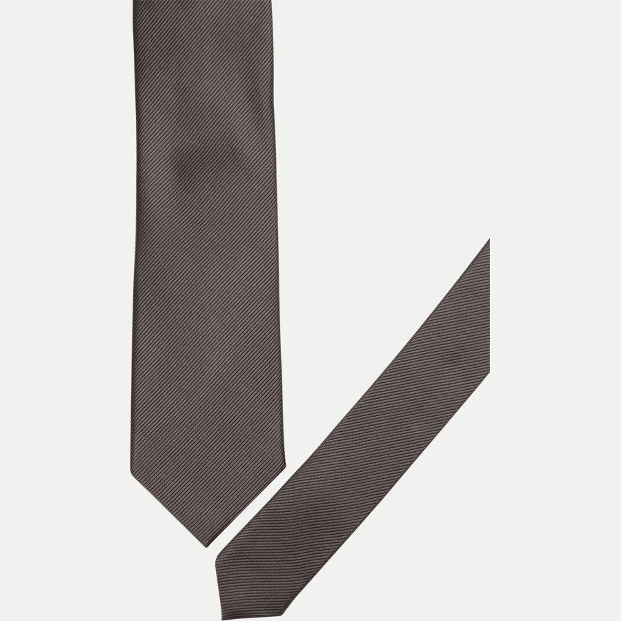 9005CR - Krawatten - GREY - 2