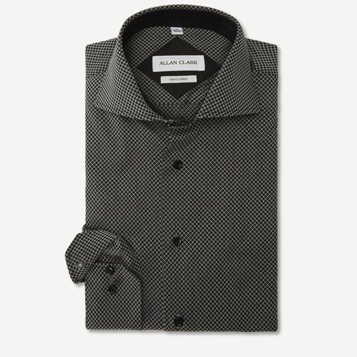 Nutella Skjorte - Skjorter - Modern fit - Grå