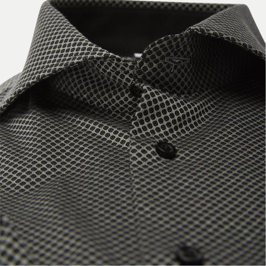 NUTELLA - Nutella Skjorte - Skjorter - Modern fit - GREY/BLACK - 3