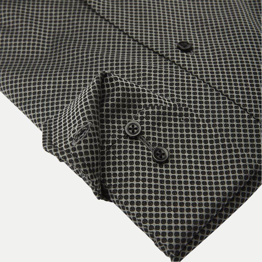 NUTELLA - Nutella Skjorte - Skjorter - Modern fit - GREY/BLACK - 4