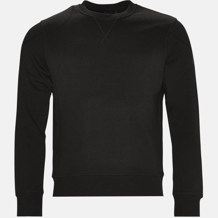 Sweat - Sweatshirts - Slim - Sort