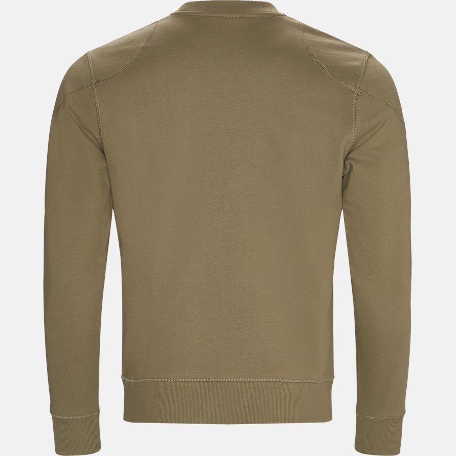 71130385 JEFFERSON - Sweat - Sweatshirts - Slim - GREEN - 2