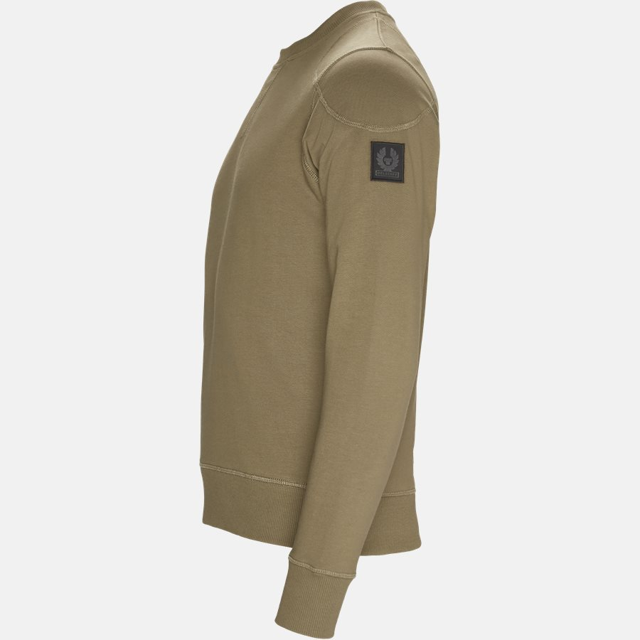 71130385 JEFFERSON - Sweat - Sweatshirts - Slim - GREEN - 3