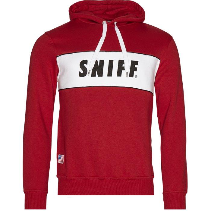 Fayette - Sweatshirts - Regular - Rød