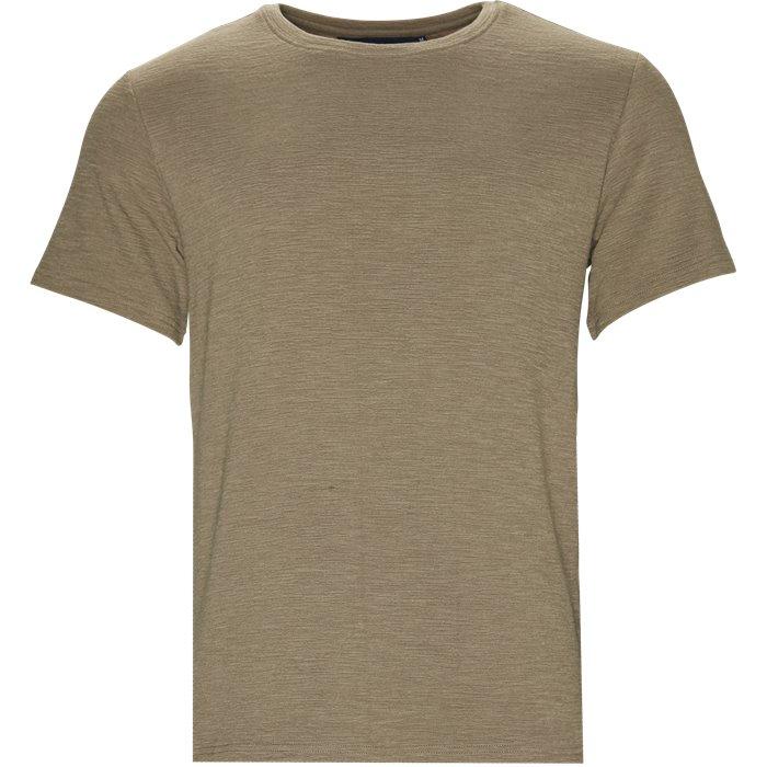Field Tee - T-shirts - Regular - Sand