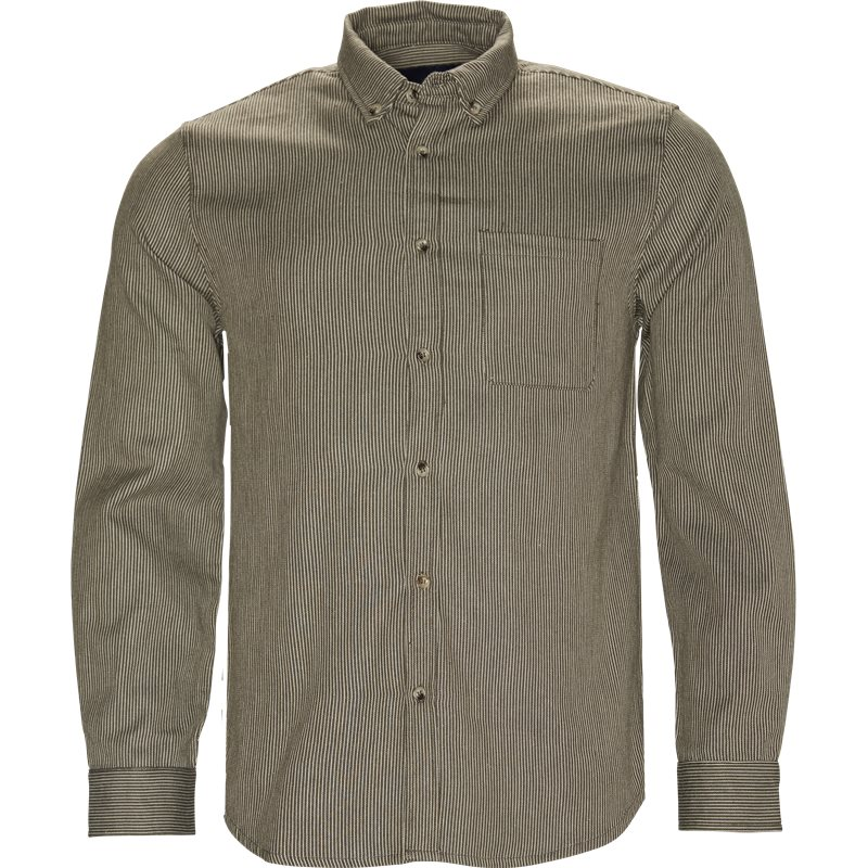 Native North Herringbone Shirt Grøn