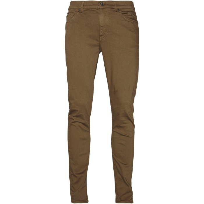 Evolve - Jeans - Regular - Brun
