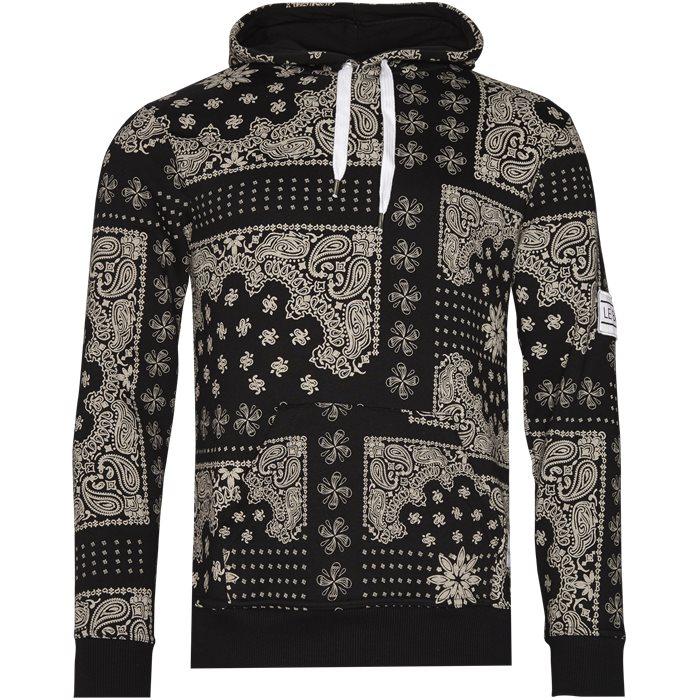 Puebla - Sweatshirts - Regular - Sort