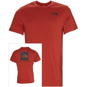Red Box Tee Regular | Red Box Tee | Rød