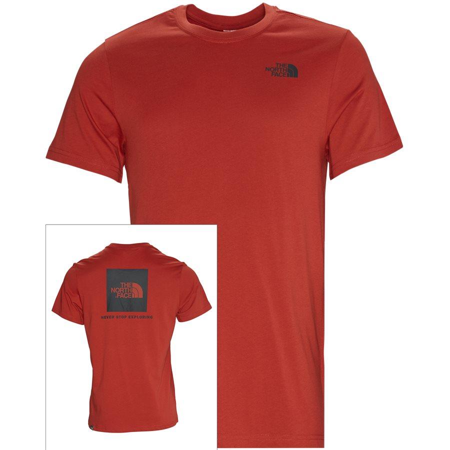 RED BOX TEE - Red Box Tee - T-shirts - Regular - RØD - 1