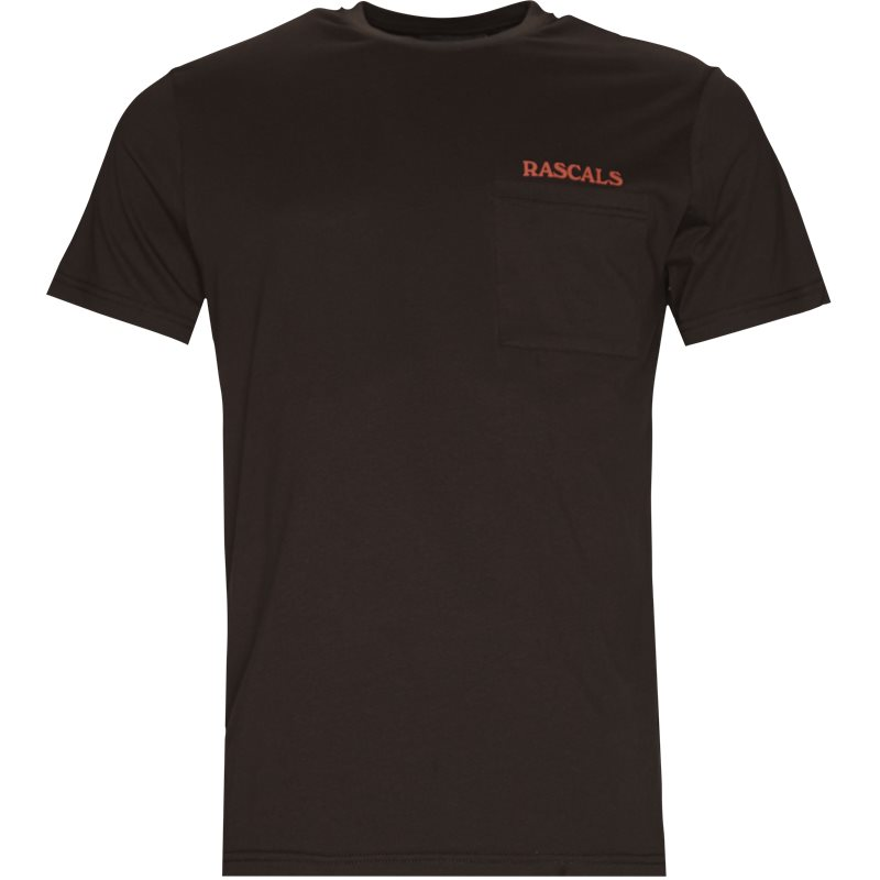 Rascals Pocket Tee Brun