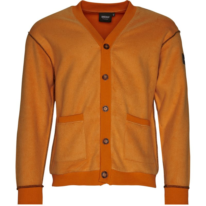 Rascals Cardigan Inverted Orange