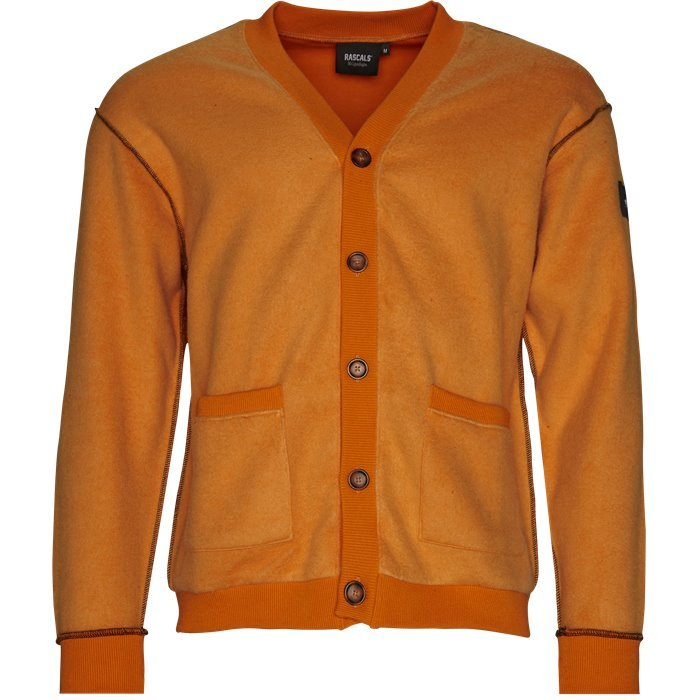 Cardigan Inverted  - Sweatshirts - Regular - Orange