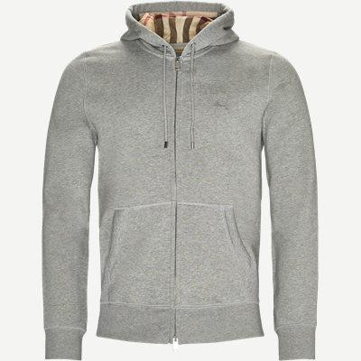 Claredon Zip Sweatshirt Regular | Claredon Zip Sweatshirt | Grå