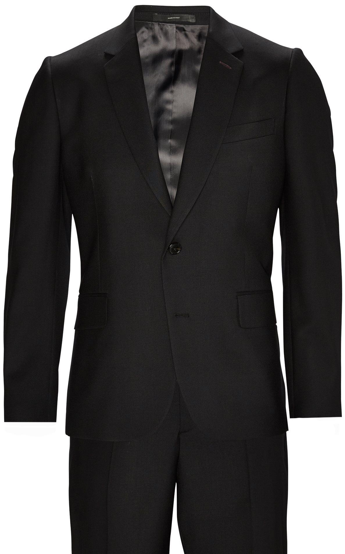 Suits - Slim fit - Black