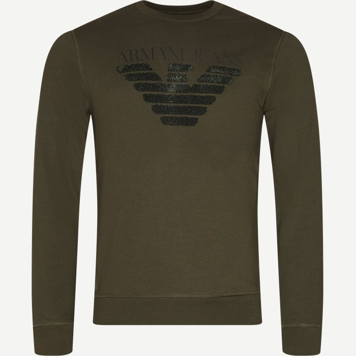 Sweatshirt - Sweatshirts - Regular - Army