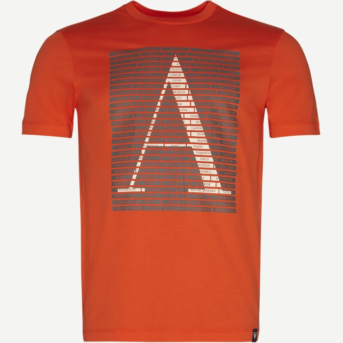 T-shirt - T-shirts - Regular - Orange