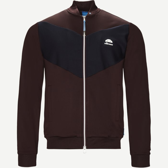 Riva Full Zip Sweatshirt - Sweatshirts - Regular - Bordeaux