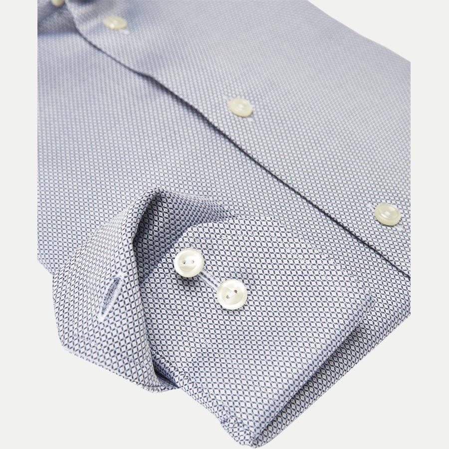 3307 79534/79334 - 3307 Textured Twill Skjorte - Skjorter - BLÅ - 4