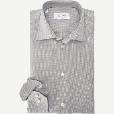 3307 Textured Twill Skjorte 3307 Textured Twill Skjorte | Brun