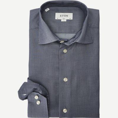3017 Signature Twill Skjorte 3017 Signature Twill Skjorte | Blå