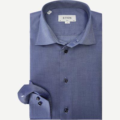 3021 Signature Twill Skjorte 3021 Signature Twill Skjorte | Blå