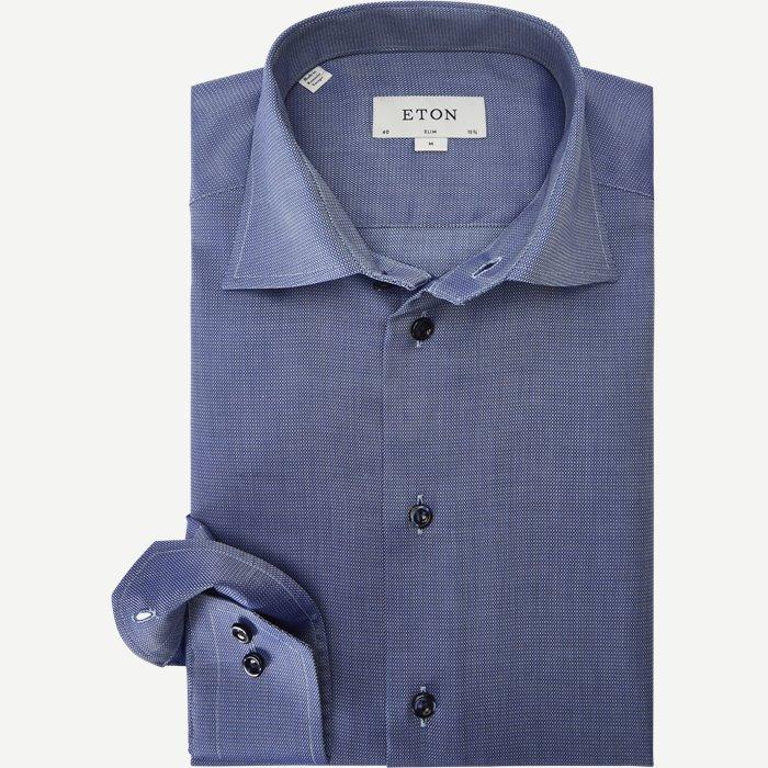 3021 Signature Twill Skjorte - Skjorter - Blå