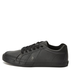 Hugh Leather Sneaker Hugh Leather Sneaker | Sort
