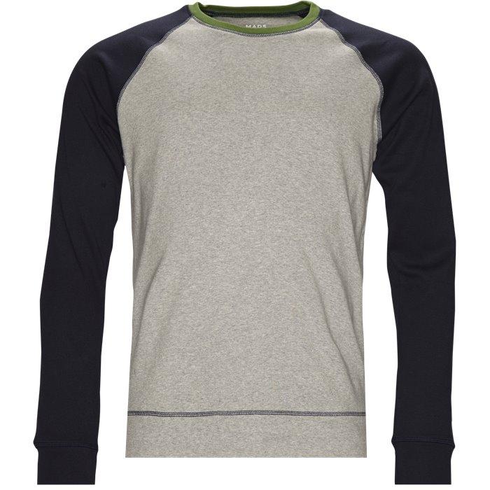 Stelt Contrast - Sweatshirts - Regular - Grå