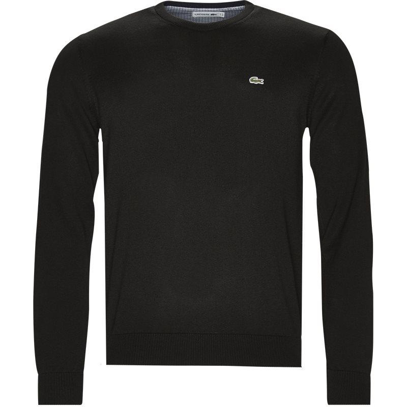 lacoste – Lacoste - crew neck sweater jumper på kaufmann.dk