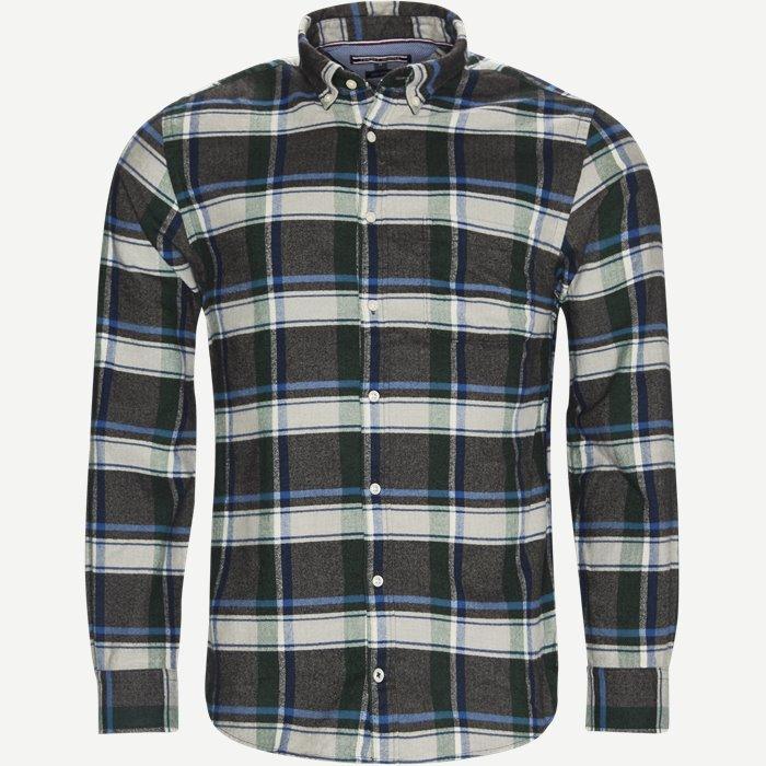 Renzo Chk Skjorte - Skjorter - Regular - Grøn