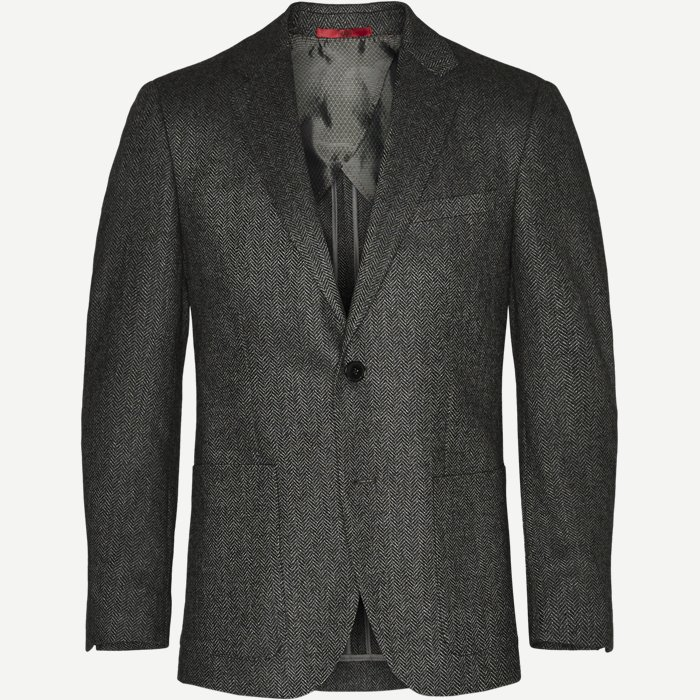 Blazer - Regular - Grå