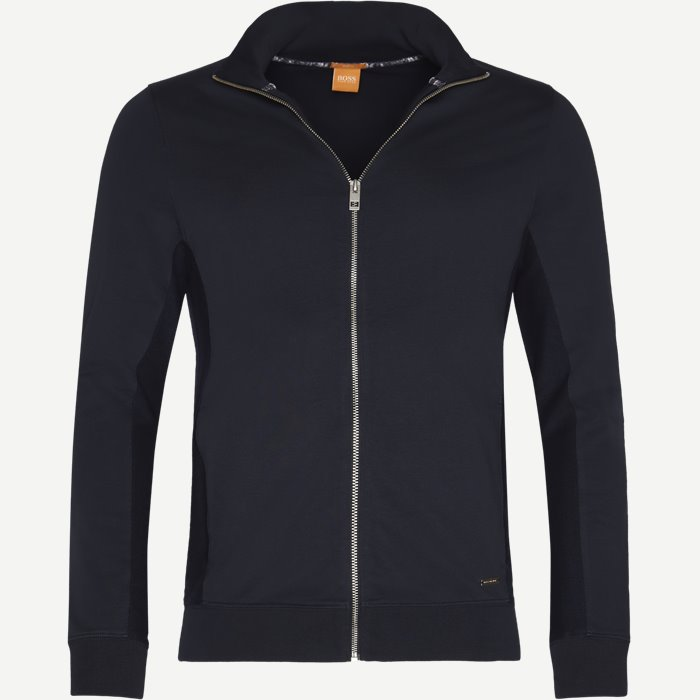 Zunset Zip Sweatshirt - Sweatshirts - Slim - Blå