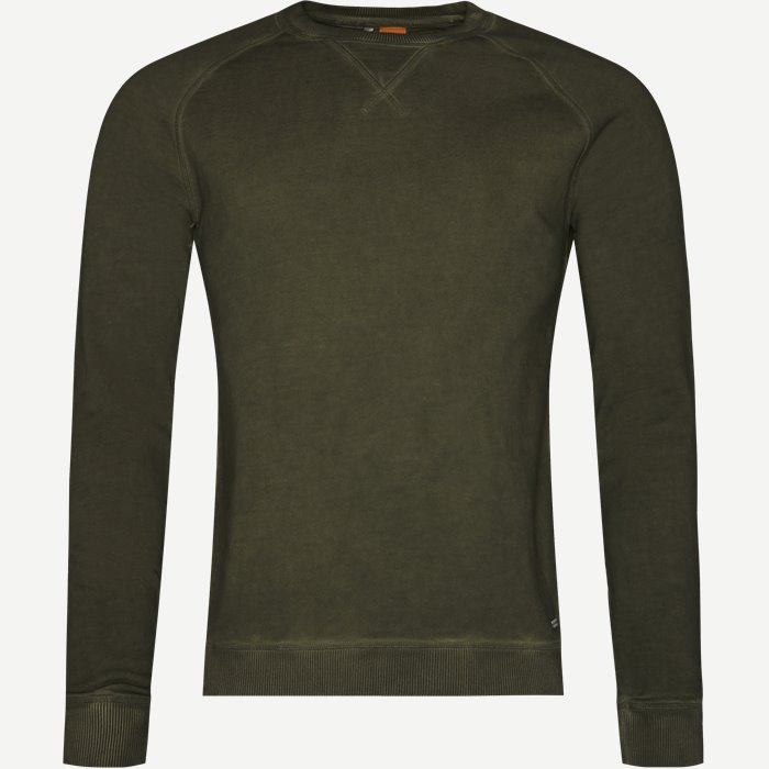 Welan Sweatshirt - Sweatshirts - Regular - Army