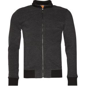 Zteel Zip Sweatshirt Regular | Zteel Zip Sweatshirt | Sort