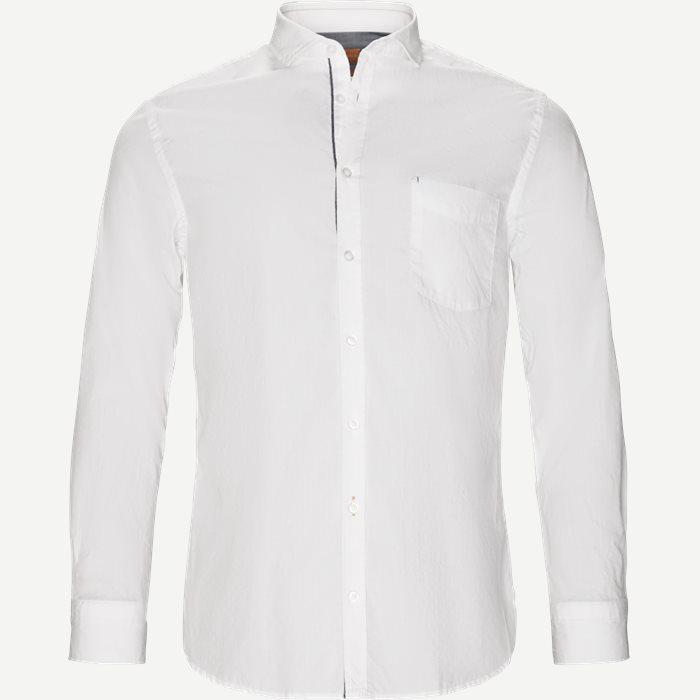 Cattitude Skjorte - Skjorter - Slim - Hvid