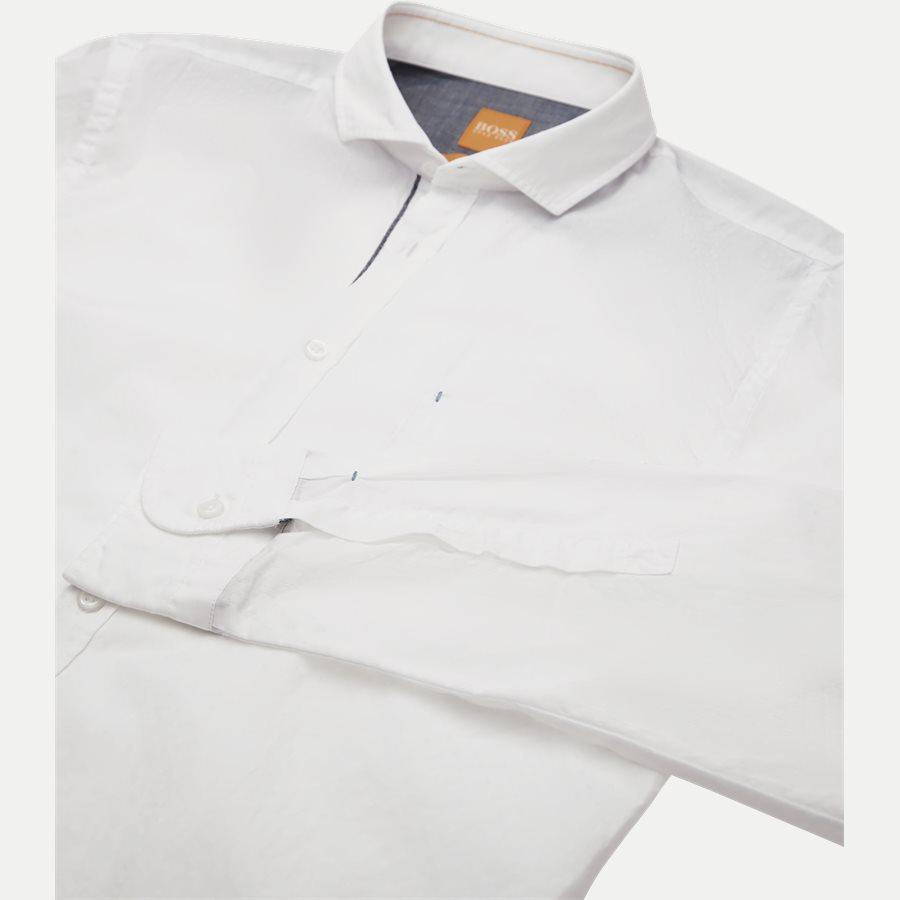 50372881 CATTITUDE - Cattitude Skjorte - Skjorter - Slim - HVID - 3