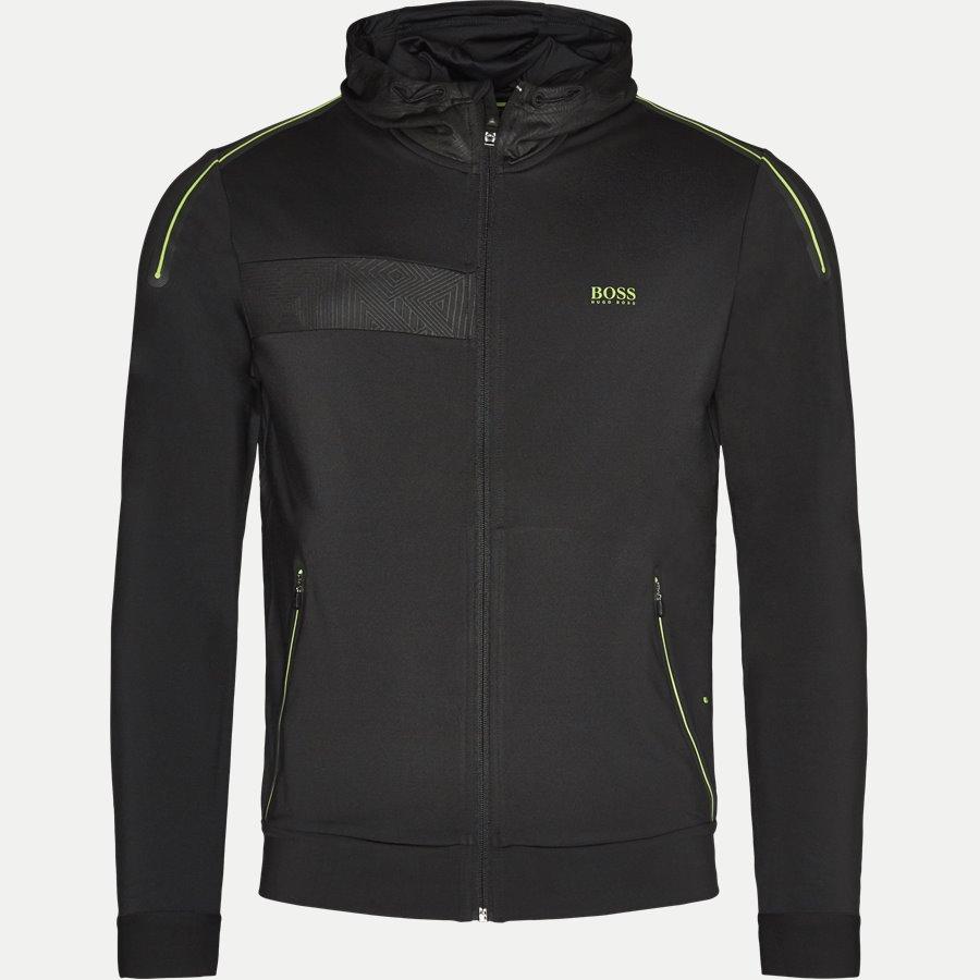 50369666 SAGGYTECH - Saggytech Zip Sweatshirt - Sweatshirts - Slim - SORT - 1